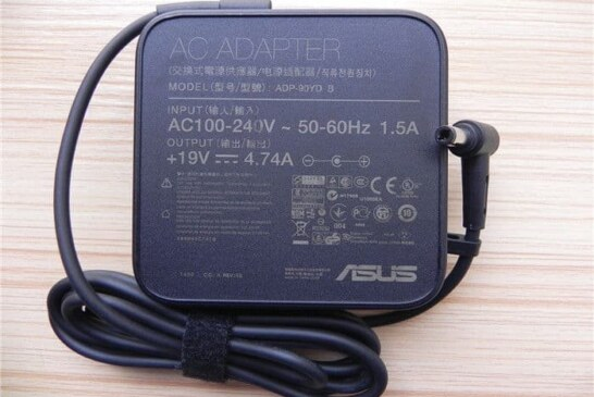 Adaptor ASUS 19V 4.7A (5.5×2.5) 90Watt SQUARE Shape